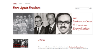 Screen shot of the Born-Again Brethren website